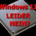 Windows 11 – Secureboot, UEFI, TPM und der falsche Ansatz bzgl. Umweltschutz und Klimawandel